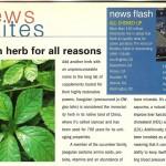Vegetarian Times: Jiagolin, August 2001