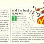 Vegetarian Times: McDonald's Fries Follow-Up, August 2001
