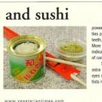 Vegetarian Times: Wasabi for Teeth, June 2001
