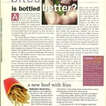 Vegetarian Times: McDonald's French Fries, June 2001
