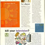 "Vegetarian Times: ""Fat Slayer,"" May 2001"